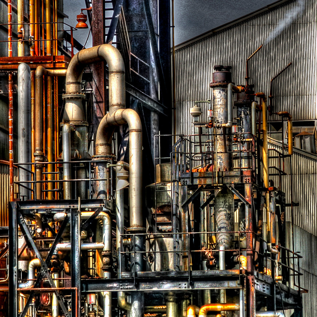 Pipes and Stuff | Operational Nitrogen plant at the old ...