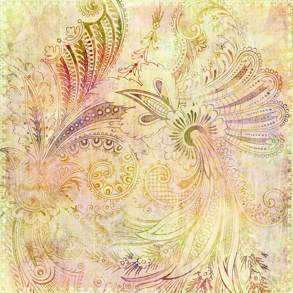 BOHEMIAN GYPSY FLORAL BACKGROUND | Jaime Pott | Flickr