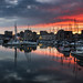 Sutton Harbour sunset