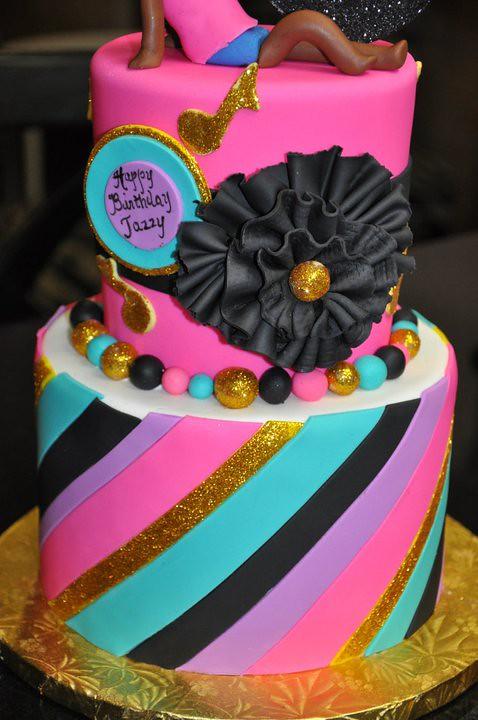 10th Birthday Cake Thecakemamas 2 Tier Cake Fonda Flickr