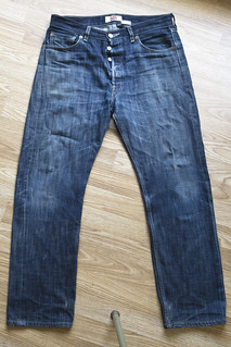 Levi's 501 Shrink to fit (Pair 2) front | by carianoff