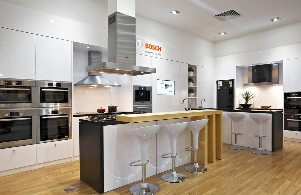 The new Bosch Euro Kitchen is their largest \