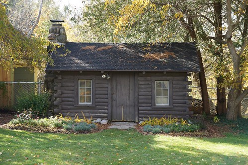 The cabin in Fred's yard