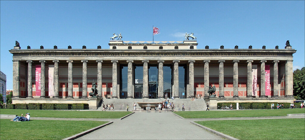 Art Car Museum >> Altes Museum (Berlin) | La façade de l'Altes Museum L'idée d… | Flickr