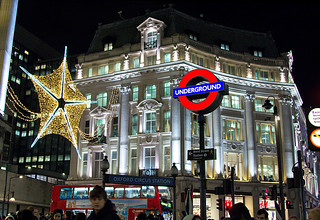 Oxford Circus, London, Christmas 2011 | by chrisjohnbeckett