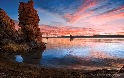 Tufa Tower Sunrise | by Matt Grans Photography