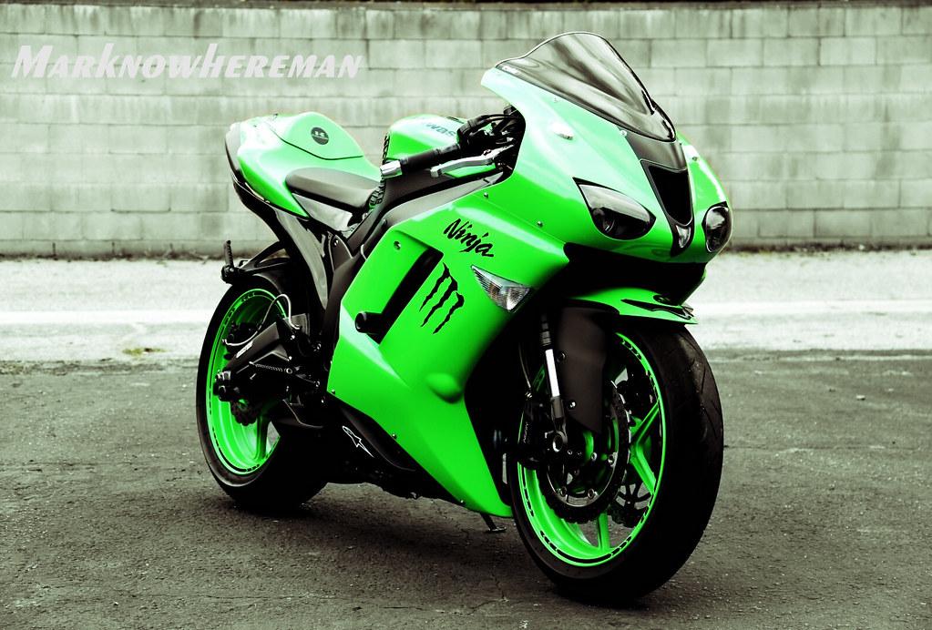 Sportbike Kawasaki Ninja