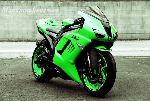 Kawasaki ninja sport bikes