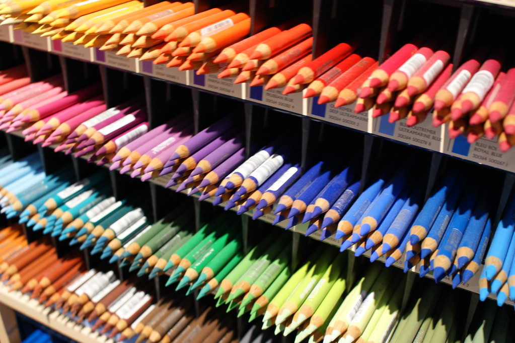 Studio Derwent Studio color pencils are