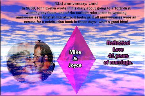 CELEBRATION OF 41 YEARS OF MARRIAGE | by fantartsy JJ *2013 year of LOVE!*