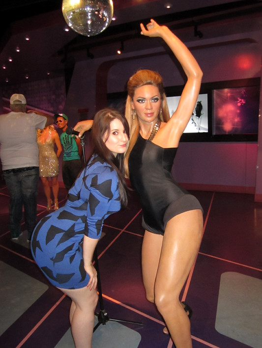 Beyonce LA Wax Museum!...