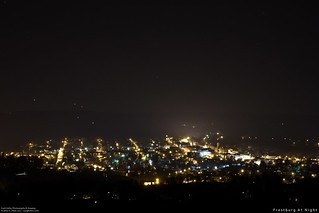 Frostburg At Night | by Western Maryland Photography