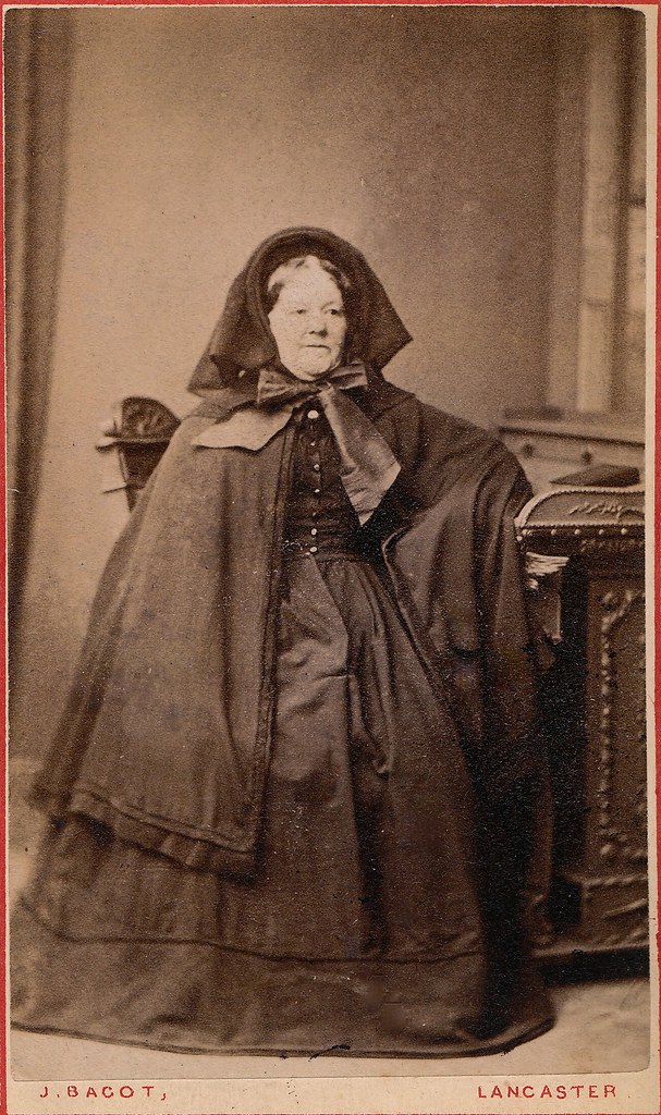 Deep Mourning, English Albumen Carte de Visite, Circa 1862…  Flickr