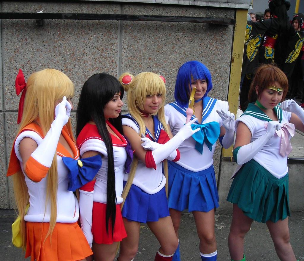 Anime Characters For Comic Con : Sofa anime con sailor moon bogota colombia