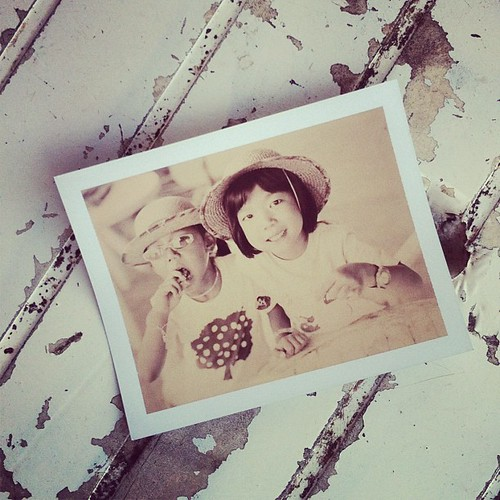 Chocolate Polaroid, Chloe and Julie | by Patrick Ng