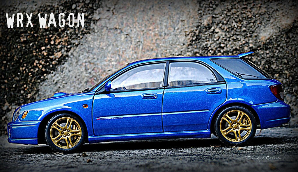 Wrx Wagon Model Subaru Impreza Wrx Sti Wagon 2001 Made