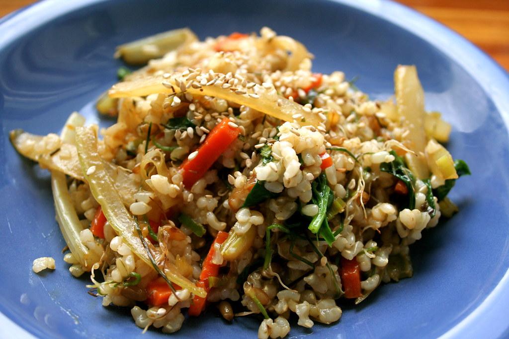 Verduras salteadas con arroz yaman receta - Arroz con verduras y costillas ...