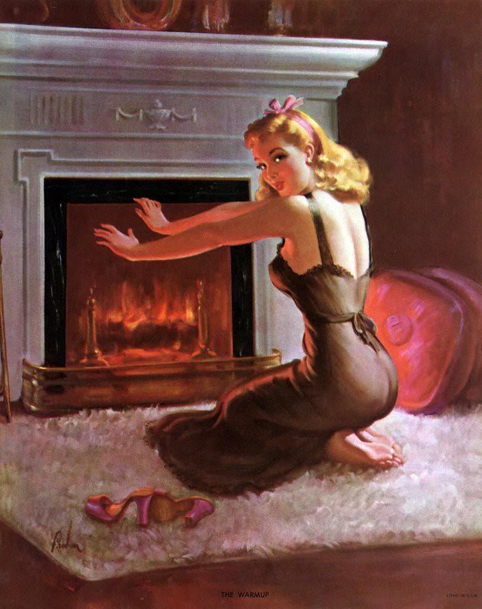 Fire on Anne t
