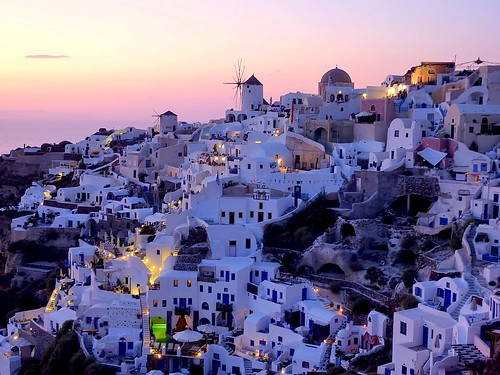 Greece : A view on Oia, Santorini | by Frans.Sellies