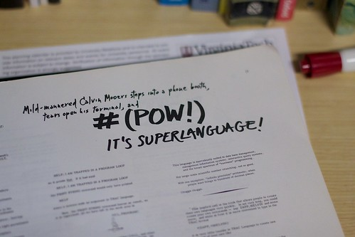 2011/365/298 Pow! It's Superlanguage | by cogdogblog