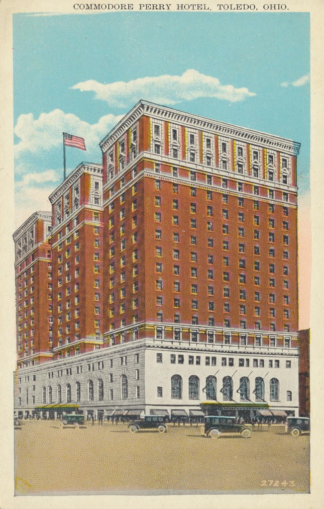 Commodore Perry Hotel - Toledo, Ohio