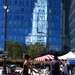 L.A. City Hall reflecting