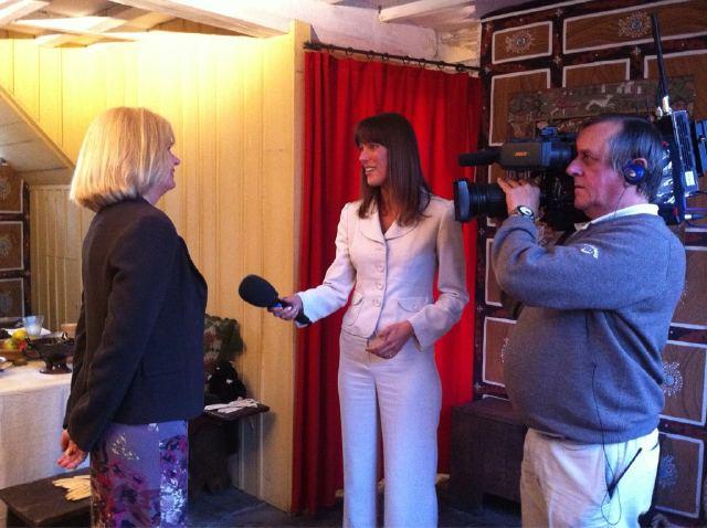 Bbc Breakfast Reported Jenny Hill Talks To Sbt Director Di