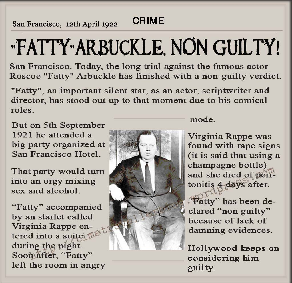 Image result for arbuckle acquitted