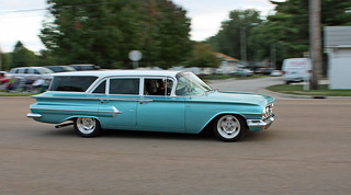 1960 Chevrolet Parkwood Station Wagon (1 of 5) | by myoldpostcards