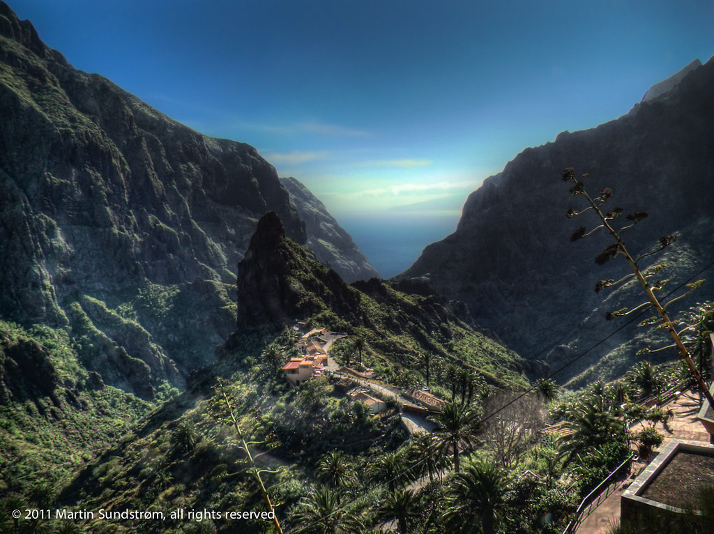 Masca Valley, Tenerife (2011 version)  I found the original…  Flickr