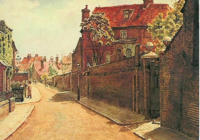Chiswick Hogarth Lane 1897