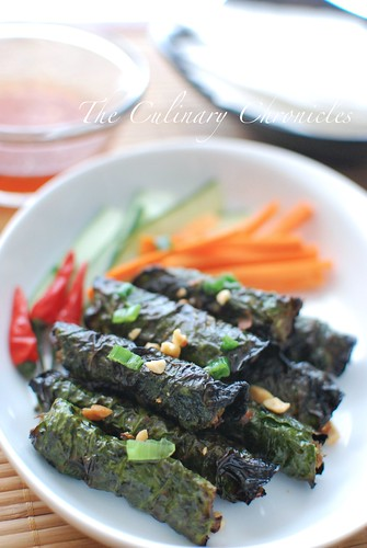 Thịt Bò Nướng Lá Lốt (Vietnamese Grilled Beef Wrapped in Betel Leaves) | by The Culinary Chronicles