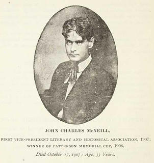 John Charles McNeill - or a Charlie Sheen lookalike?? | by Government & Heritage Library, State Library of NC