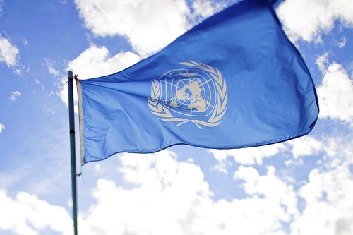 united nations flag | by sanjitbakshi