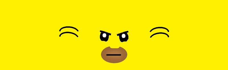 MiniFigure Head decals (130 facial expressions) - Minifig ...