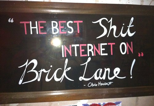 The Best Sh*T Internet on Brick Lane | by cherbert