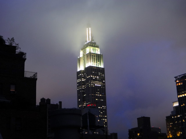 empire state building sunset - photo #25