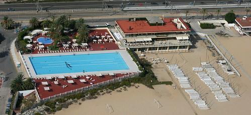 Masnou marina pool piscina del club n utico masnou flickr for Piscina masnou