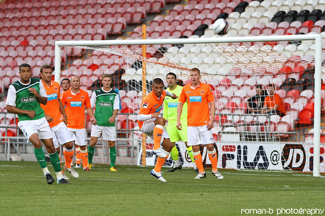 Blackpool FC v Hibernian 01 | Flickr - Photo Sharing!
