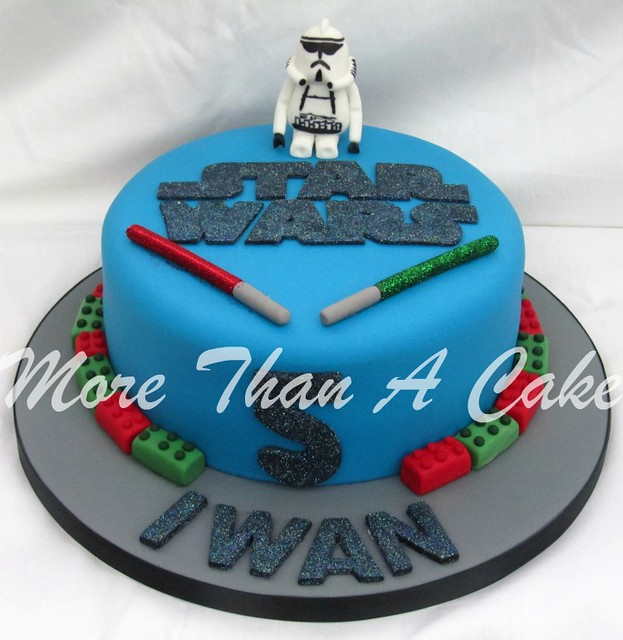 Clone Trooper Cake Shopping