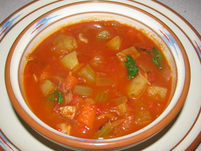 Manhattan Clam Chowder | Colleen Greene | Flickr