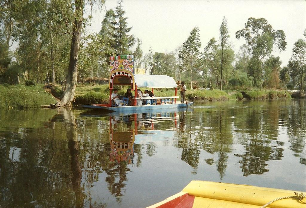 Lake Xochimilco Lake Xochimilco And The Csystem Is