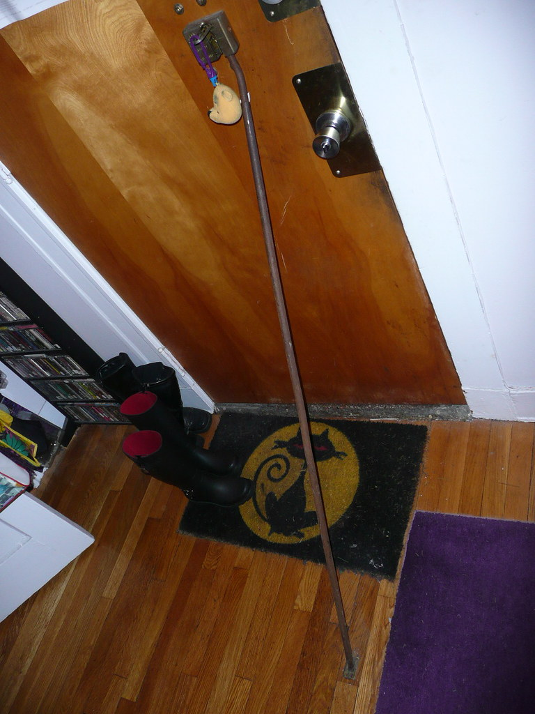Police lock | In my pal Kelly's condo - I had never seen ...