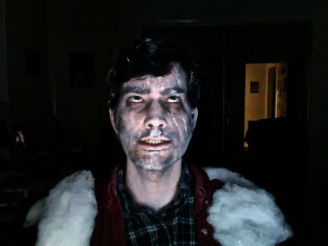 Me as frozen Jack Nich...