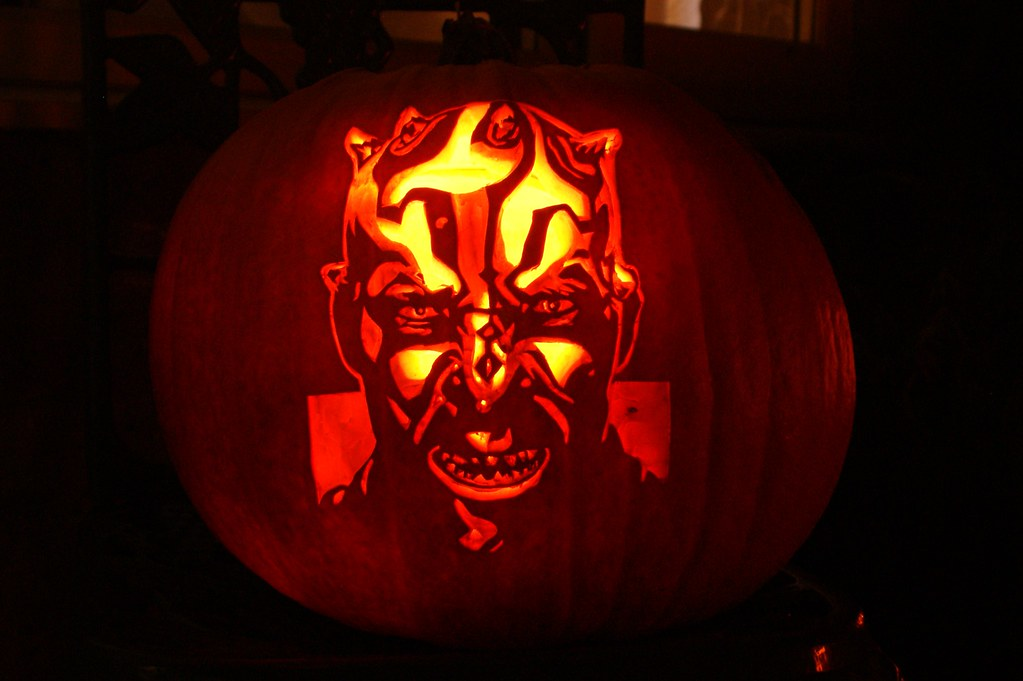 Star Wars Darth Maul Savage Opress Pumpkin Spencer