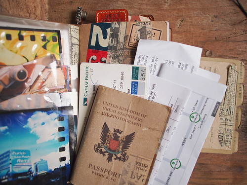 Traveler's Notebook - travel essentials | by Patrick Ng