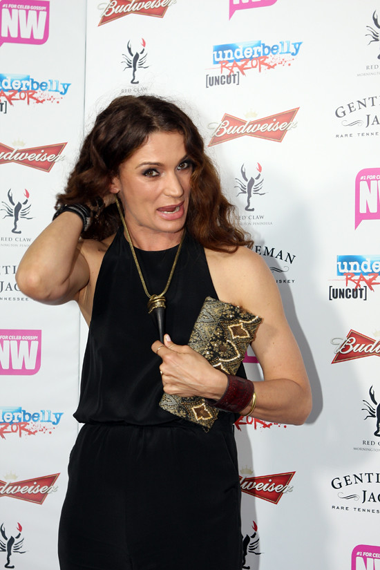 Danielle Cormack Underbelly Razor Dvd Party At East