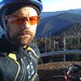 At the top of Clingman's Dome - about 25 miles into the ride ... all uphill!