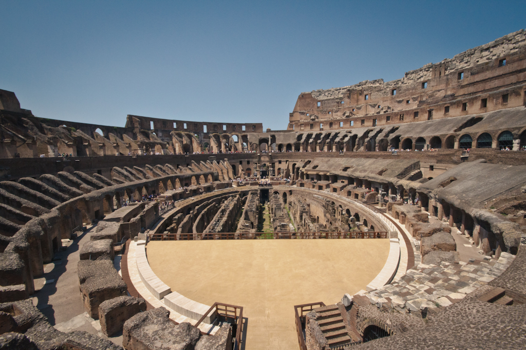 is the roman colosseum ethical A graffito found near the arena in pompeii claims that 'the philosopher annaeus  seneca is the only roman writer to condemn the bloody.