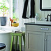 Lunda Gard / Aja and Christian Lund {gray and white eclectic rustic vintage modern bathroom}